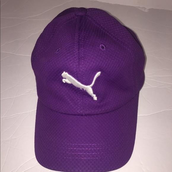 defff41719 Adult adjustable us puma purple hat cap